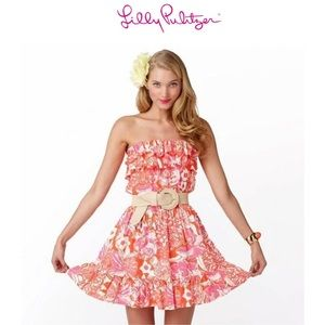 Lilly Pulitzer Orange Tango Quincy Dress!!!!